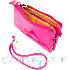 Универсальный чехол-сумка два кармана 4.5″ 75x140мм LGD розовый