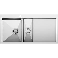 Кухонная мойка Aquasanita LUNA LUN151M-L (1000x510)