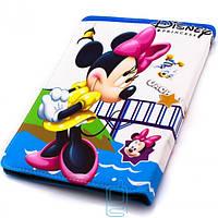Чехол-книжка 10 дюймов с разворотом, уголки-резинка Minni Mouse