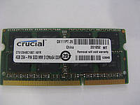 Память SoDIMM Micron DDR3-1067 8GB(4+4) 2Rx8 PC3-8500S-7-10-FP