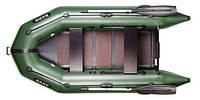 Двухместная моторная надувная лодка Барк (Bark) BТ-270 С реечным настилом