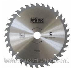 Диск пильный Werk 115х22.23 мм 24 зуб по дереву (WE109101)