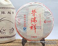 """Китайский чёрный чай - Шу пуэр  """"1027"""", 2012 год, фото 1"""