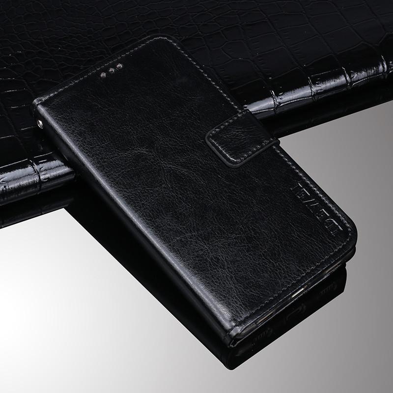 Чехол Idewei для iPhone 6 / 6s книжка кожа PU черный