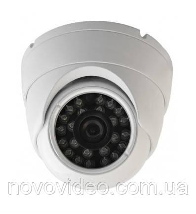 Уличная купольная HD-CVI камера 1080p 2МП CAM-216DB30