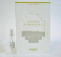 Hermes Le Jardin de Monsieur Li туалетная вода 2 мл (пробник)