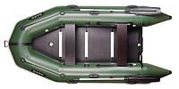 Трехместная моторная надувная килевая лодка Барк (Bark) BT-310S с жестким днищем