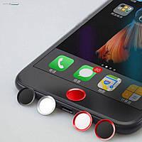Наклейка на кнопку Rock Touch ID Button для Apple iPhone 5S/SE/6/6S/6+/6S+/SE красный