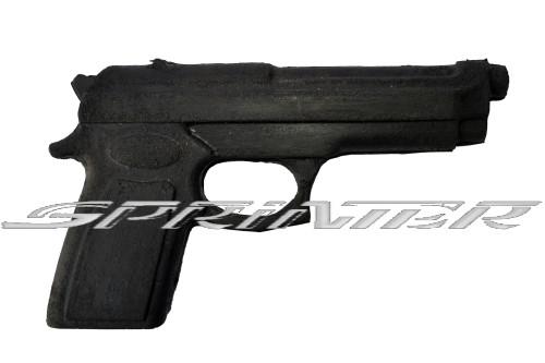 Пистолет резиновый тренировочный(муляж)