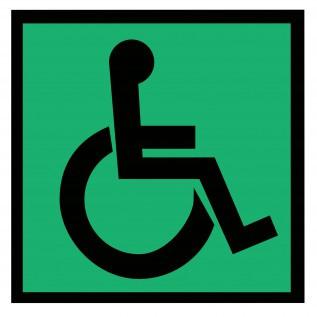Табличка Доступность для инвалидов всех категорий