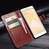 Чехол Idewei для Xiaomi Redmi Note 4X / Note 4 Global книжка кожа PU Коричневый