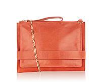 Женская сумочка кросс боди Oasis натуральная кожа замша
