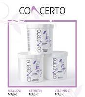Concerto Detangling Mask With Keratin Extract For All Hair Types-маска с кератином для всех типов волос 1000мл