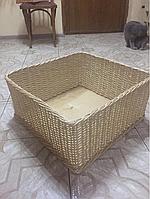 Лоток плетений  из лози h-15-50*50