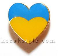 """Значок """"Українське серце"""""""