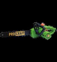 Цепная электропила PROCRAFT 1800 боковая