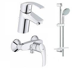 Набор смесителей для ванны Grohe EuroSmart 123244S