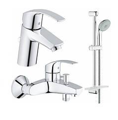 Набор смесителей для ванны Grohe EuroSmart 123238S