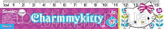 """Линейка пластиковая """"ЧарммиКитти"""", 15 см, в ассортименте, фото 2"""
