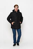 Мужская зимняя чёрная куртка М-63