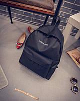Рюкзак для дівчинки з тканини чорний 910, фото 1