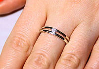 Кольцо серебро 925 проба 15.5 размер АРТ1188, фото 1
