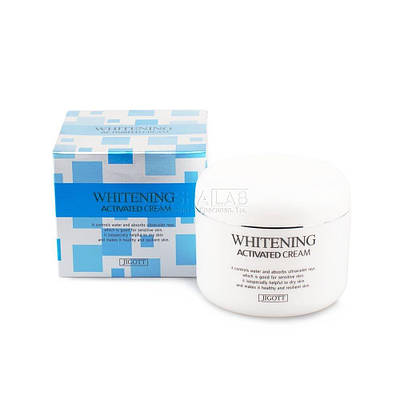 Отбеливающий крем для лица Jigott Whitening Activated Cream, 100ml