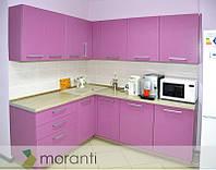 Кухня на заказ МДФ матовая покраска Виола
