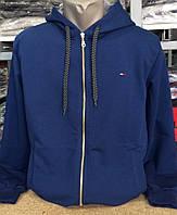 Свитшот, олимпийка мужская, на молнии с капюшоном
