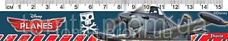 """Линейка пластиковая """"Аэротачки (Самолетики)"""", 15 см, в ассортименте, фото 2"""