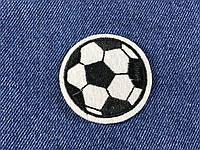 Нашивка футбольный мяч 50 мм