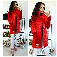Куртка женская,  модель 205/2, красный, фото 1