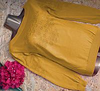 Джемпер из шерсти 1360 желтый 42-46р