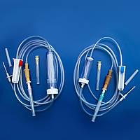 Устройство для переливания крови ПК - ALEXPHARM (метал. игла в емк. раствора)