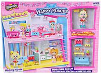 Игровой набор НAPPY PLACES S1 – СЧАСТЛИВЫЙ ДОМ (дом, кукла, 9 петкинсов), фото 1