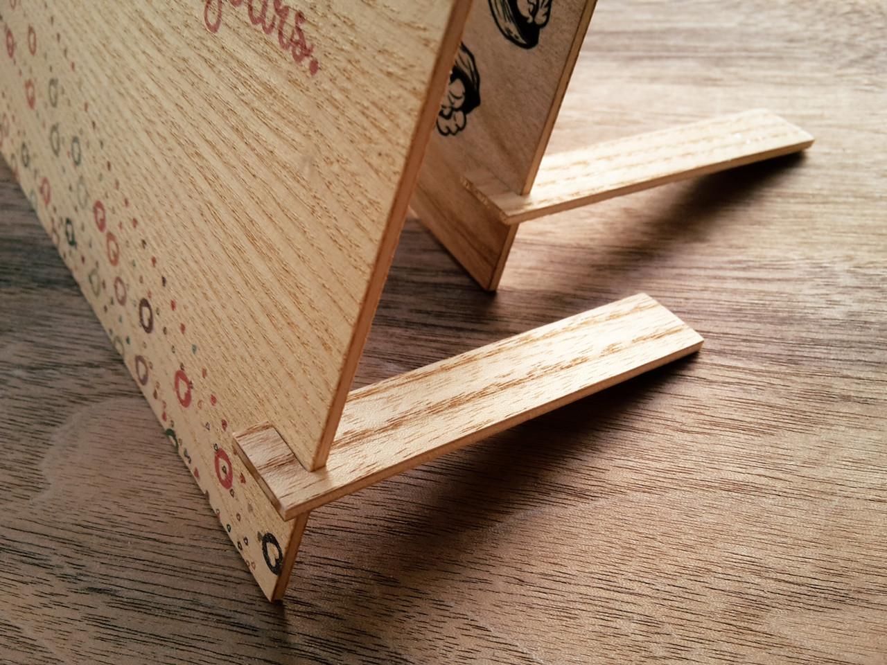 Открытка деревянная фото, бывшему учителю