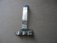 Шлейф с платой аудио и usb   б.у. оригинал для ноутбука Asus K55