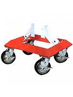 Тележка под колесо для перемещения автомобиля профессиональная 1500 кг TRF0422