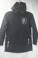 Куртка для мальчика 12-14 лет(плащевка с наушниками ) 140-164  см 51.0