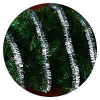 Дождик (мишура) 2,5 см (3м) (серебряный), фото 1
