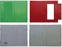 Ворота металлические, распашные гаражные. , фото 1