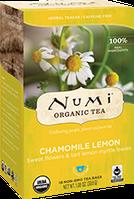 Травяной тизан «Ромашка с лимоном» Numi
