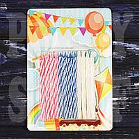 Свечи для торта 12 шт