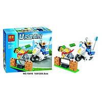 Конструктор Bela Urban 10416 Погоня за вором 37 дет.(аналог Lego City 60041)