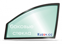 Боковое стекло левое задней двери Nissan MICRA 2003-2010  K12
