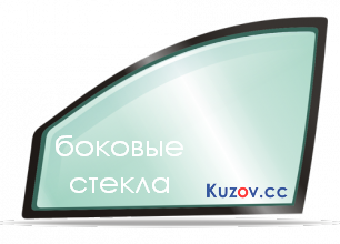 Боковое стекло левое передней двери Lexus GX 470 03-09  Sekurit