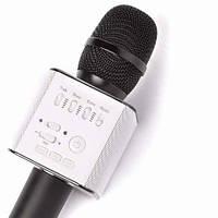 Портативный Bluetooth караоке микрофон MicGeek Q9 Black с динамиком