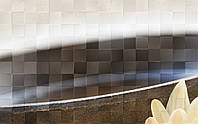 Декор Bali Пано №1  411411 250х400 (Бежевый)