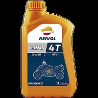 Моторное масло для квадроцикла REPSOL MOTO ATV 4T 10W40 (1L) полусинтетика