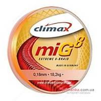 Climax Шнур Climax MIG8 Braid 135 m 0.14 13.50kg fluo-orange 9353-10135-014